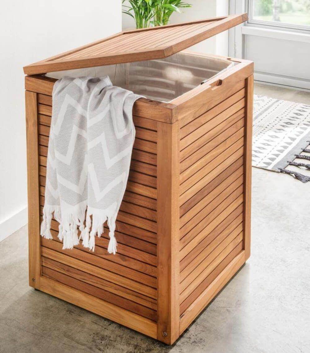 Wäschebox Holz Spa in 2020 mit Bildern