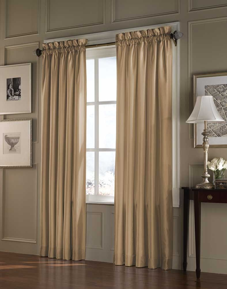 Hanging Curtains On Big Windows
