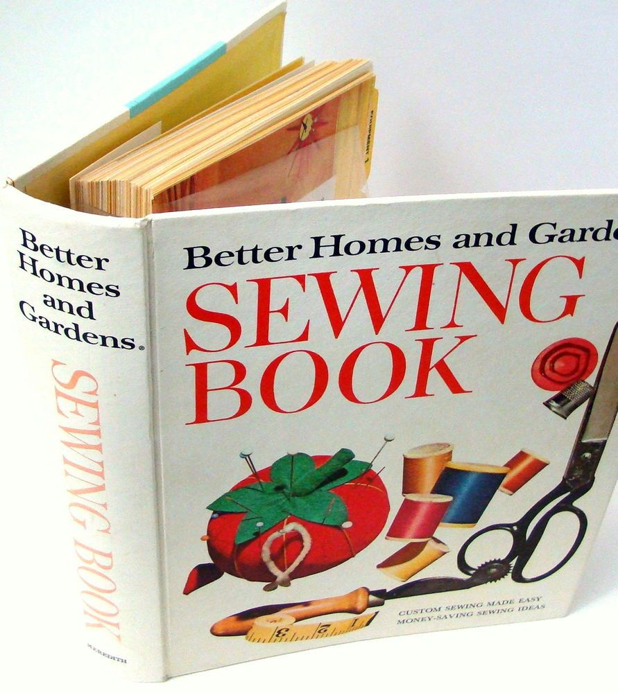 better homes and gardens sewing book 5 ring binder 1971 instructions