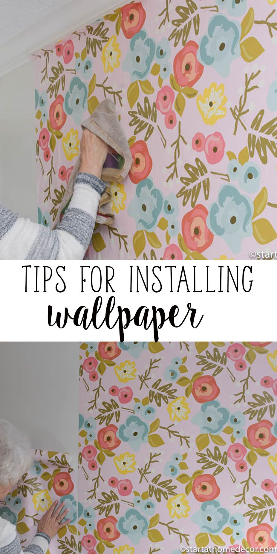 Great Tips For Installing Wallpaper Floral Wallpaper Floral Wallpaper Bedroom Vintage Flowers Wallpaper How To Hang Wallpaper
