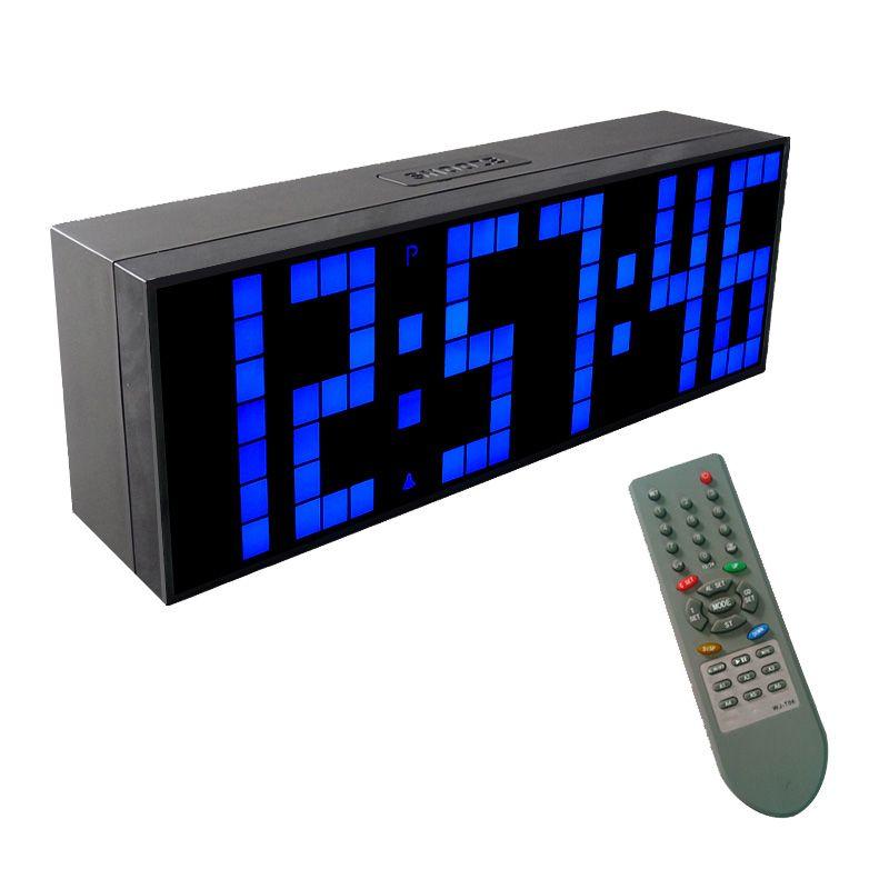 Ch Kosda Led Digital Wall Clock Remote Control Display Countdown And