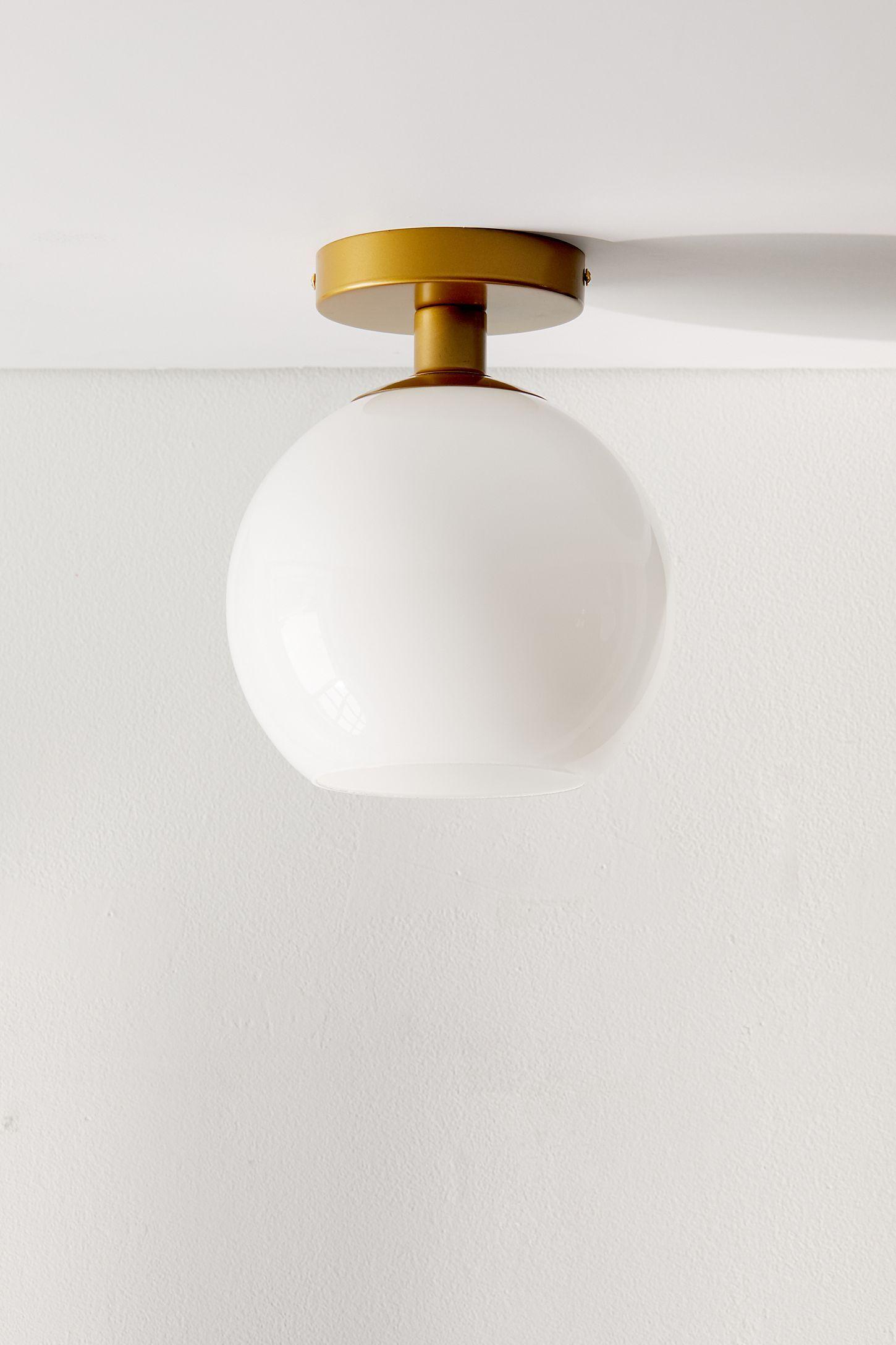 Globe Flush Mount Light in 2019 | Flush mount kitchen ...