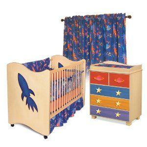 Room Magic Nursery Set, Star Rocket