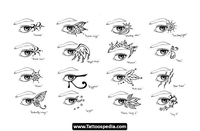 Deviantart More Collections Like Tribal Cat Eye Tattoo By: Leaping