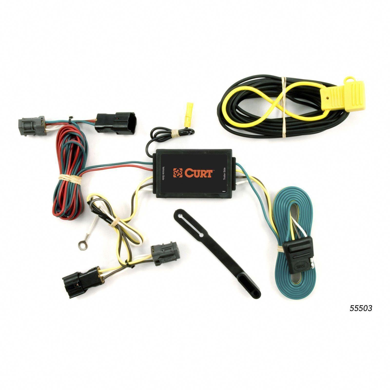 hight resolution of curt 55503 wiring harness for 07 09 hyundai entourage 06 14 kia sedona kiasedona