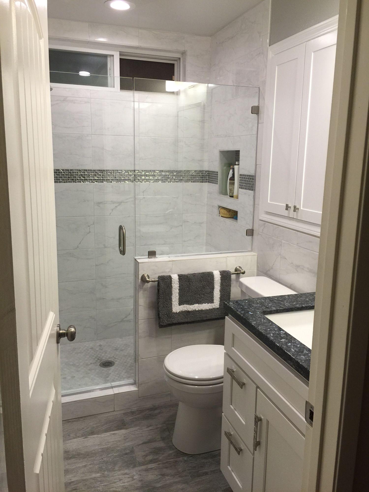 My New Bathroom Remodel Bathroom Remodel Small Budget Small Master Bathroom Bathrooms Remodel