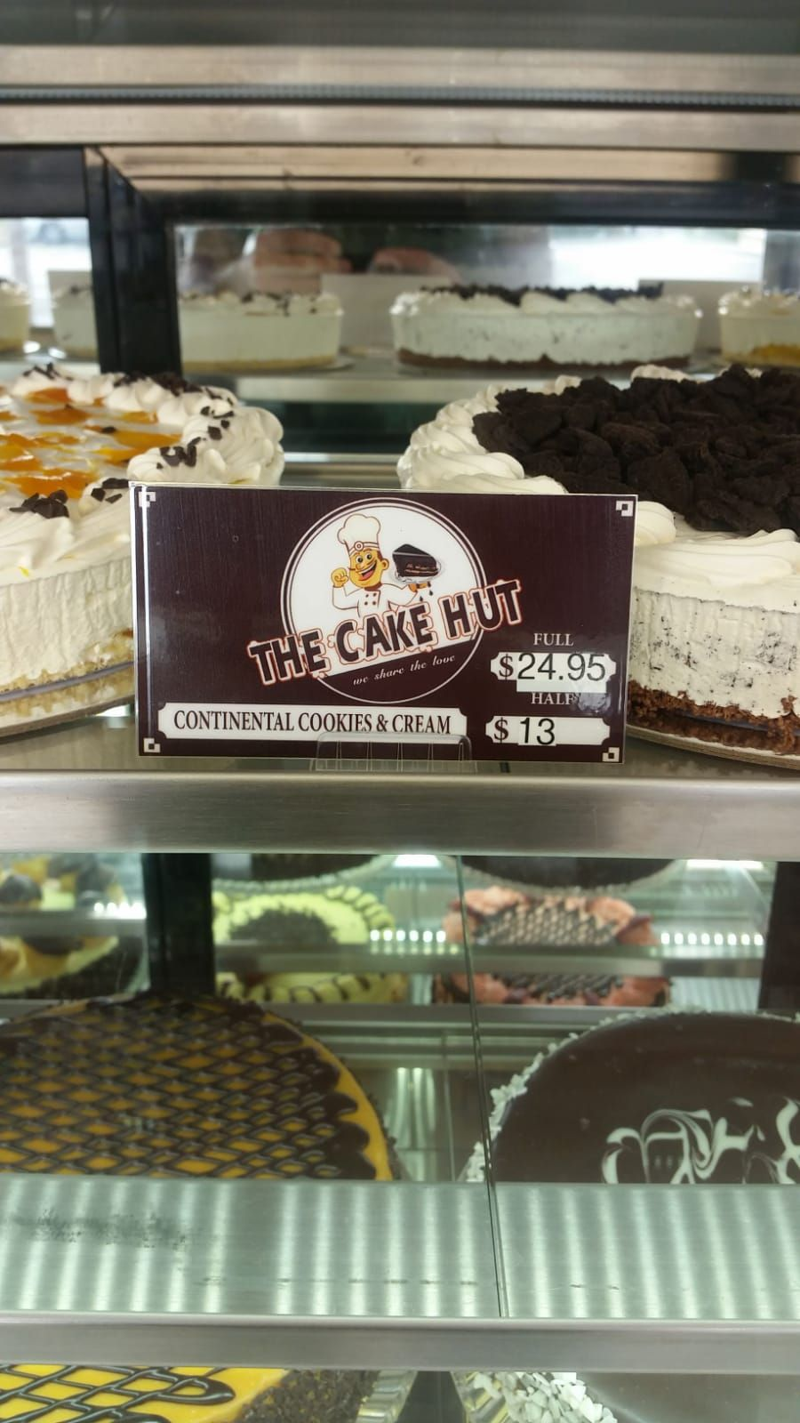 Continental cookies cream cake shop near me cake hut