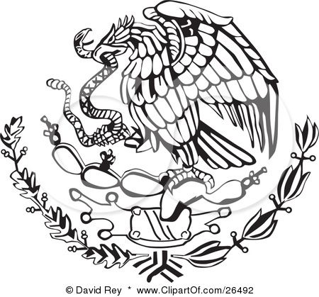 Mexican Art Emblema Mexicana With Images Mexican Eagle