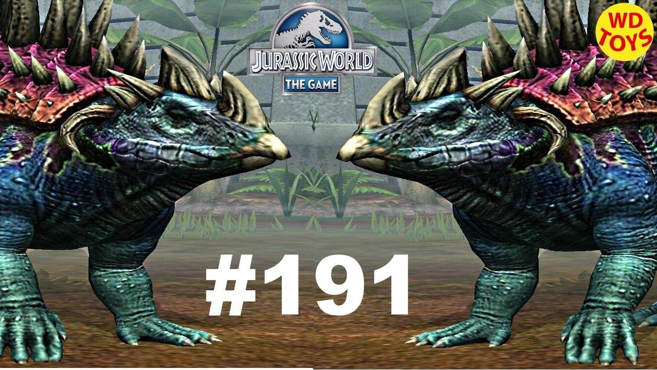 Jurassic World The Game Episode 190 Nundagosaurus Lvl 40 Dinosaurs