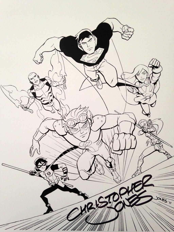 James A Perez On Twitter Young Justice Christopher Jones Superhero Comic
