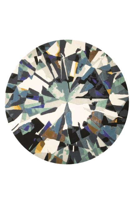 Round Diamond Rug #home #decor  Emma Elizabeth