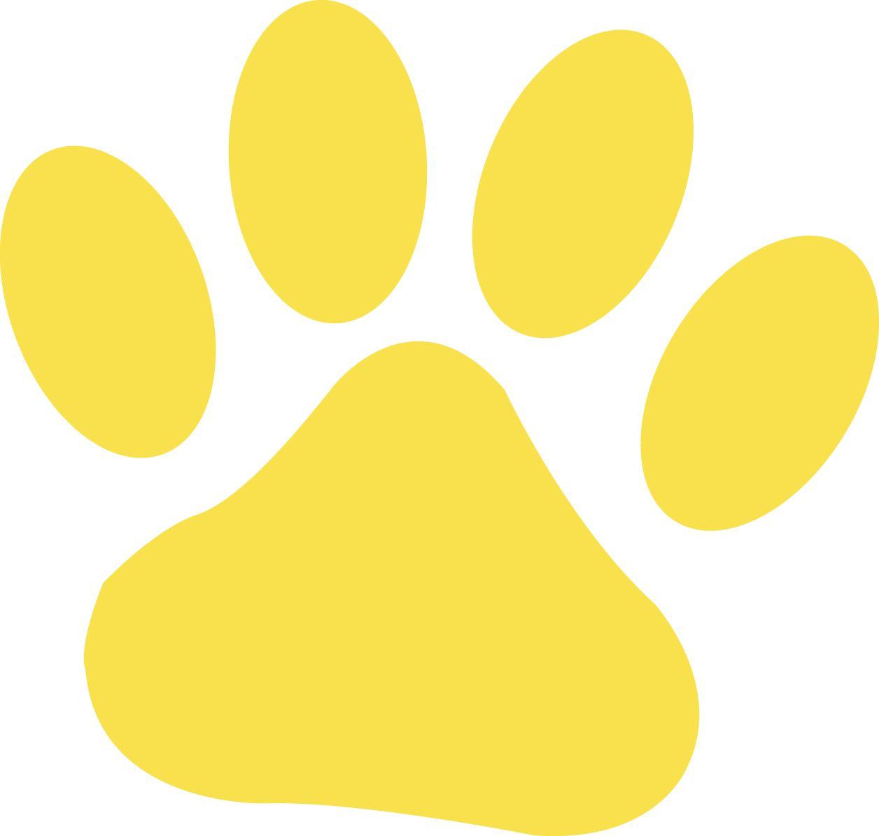dfc1ac79af0e Lion King - Yellow Paw print | Lion King Theme | Cat paws, Lion paw ...