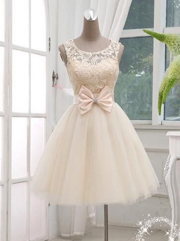 A-line Scoop Short Prom Drsess Juniors Homecoming Dresses SKY591 ...