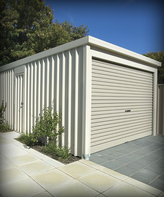 Flat Roof Wooden Sheds : Garages flat roof homeshed garage storage shed