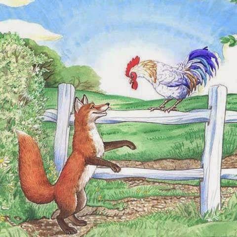 الثعلب الواعظ مدونة ابن الجوزي Animals Rooster Painting