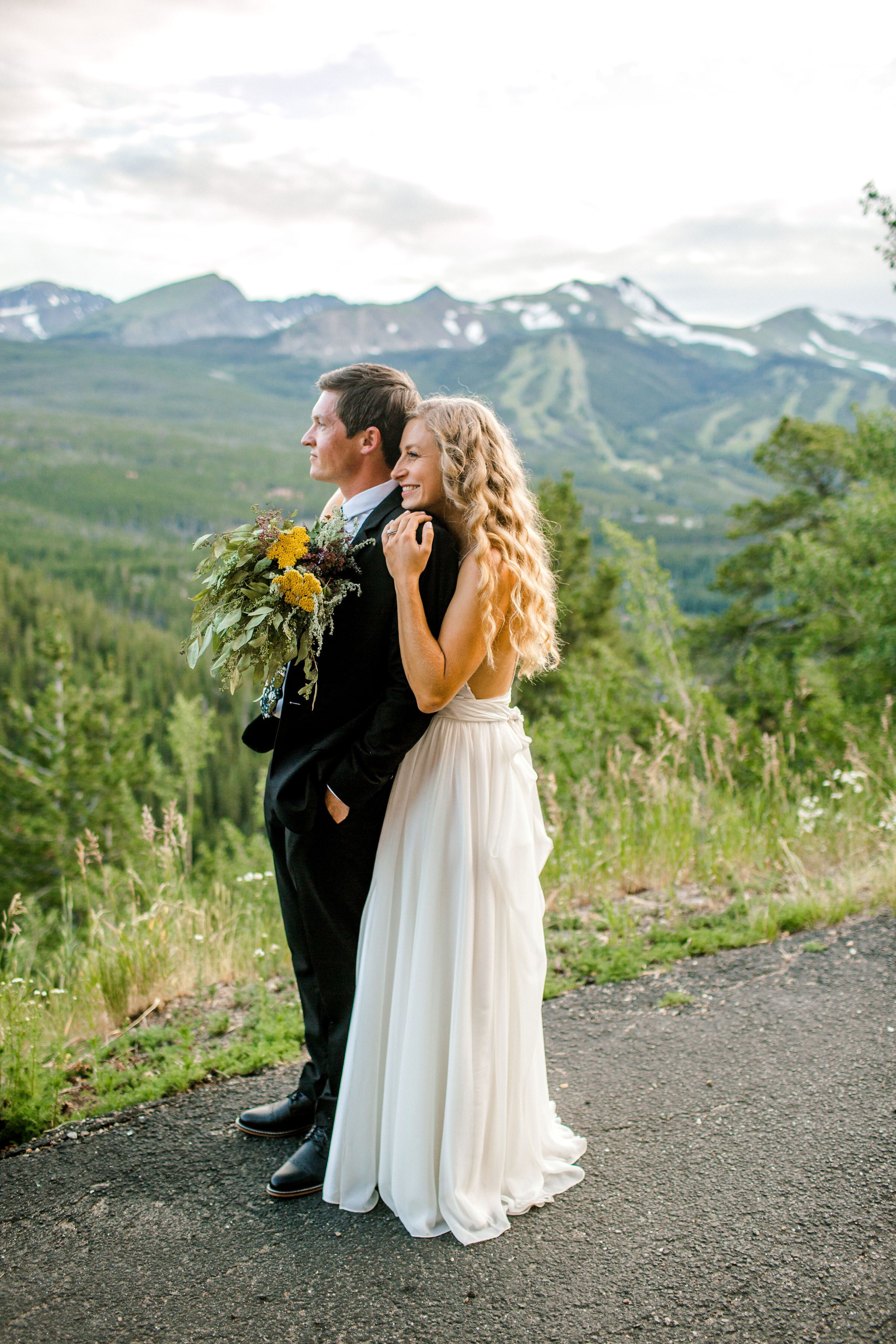 Matt + Joan; A Breckenridge Wedding Breckenridge wedding