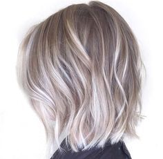 August 2016 - ash blonde hair with silver highlights 2016 | Hair | Pinterest…