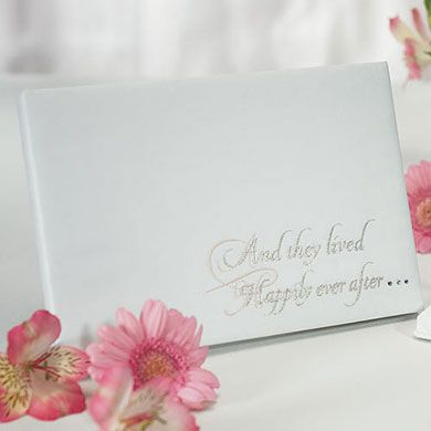 Fairy Tale Dreams Traditional Guest Book