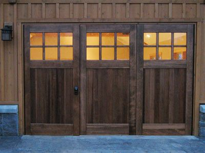 Bifold Carriage Doors For Walkout Basement Basement
