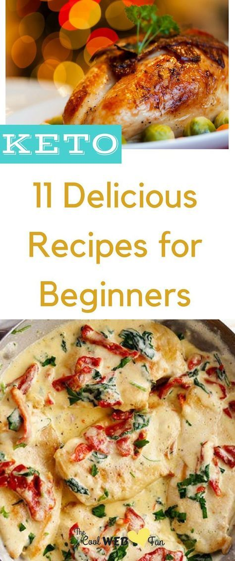 11 Keto Recipes for Beginners #ketorecipesforbeginners