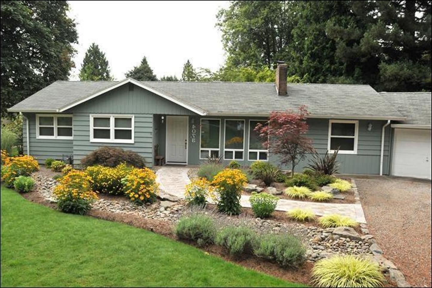 15 best ranch homes landscaping ideas 1 with images on front yard landscaping ideas id=13949