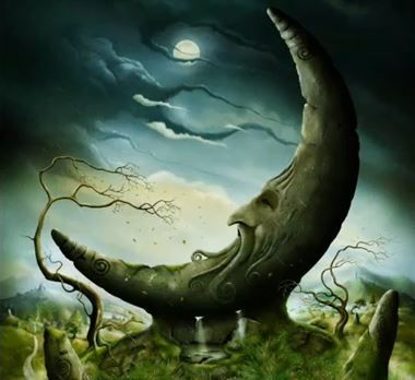 Mond aus Stein