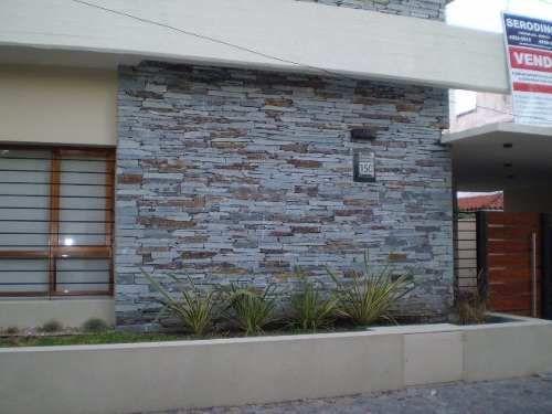 Murete san luis fino revestimiento piedra natural casas - Losetas para fachadas ...