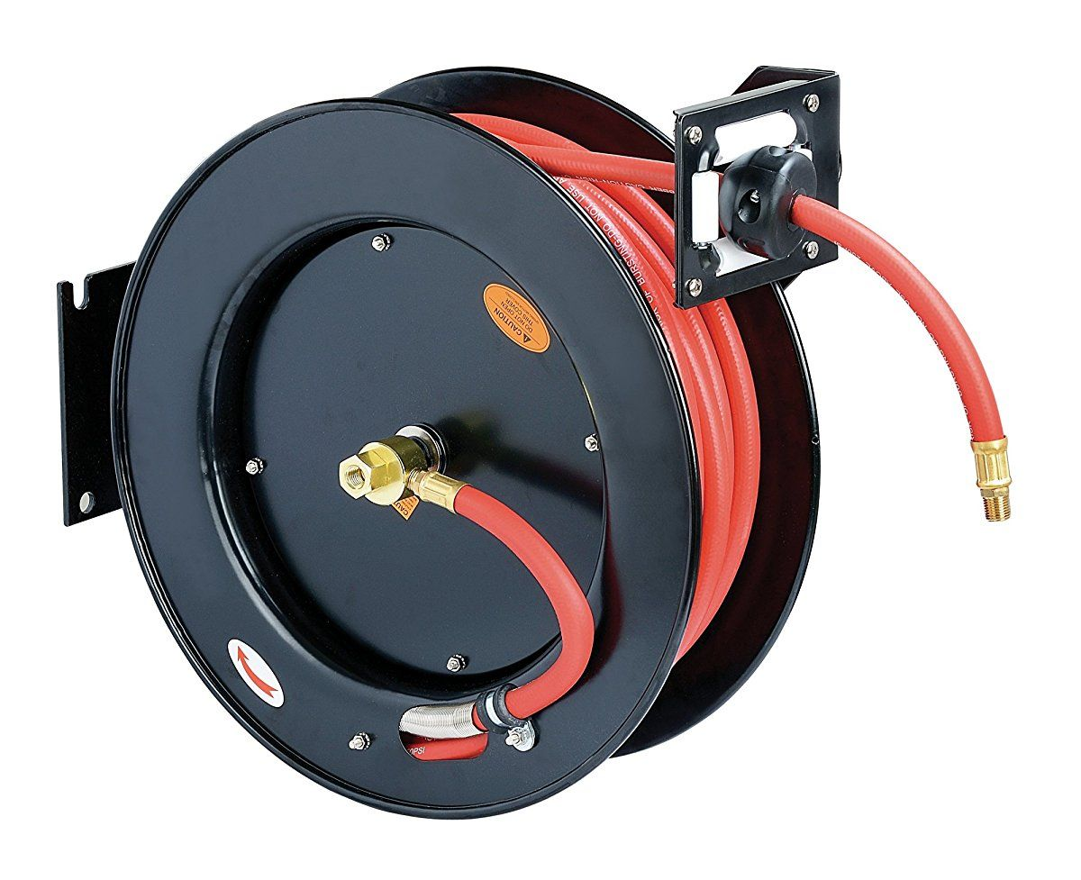 Pin On Retractable Hose Reel