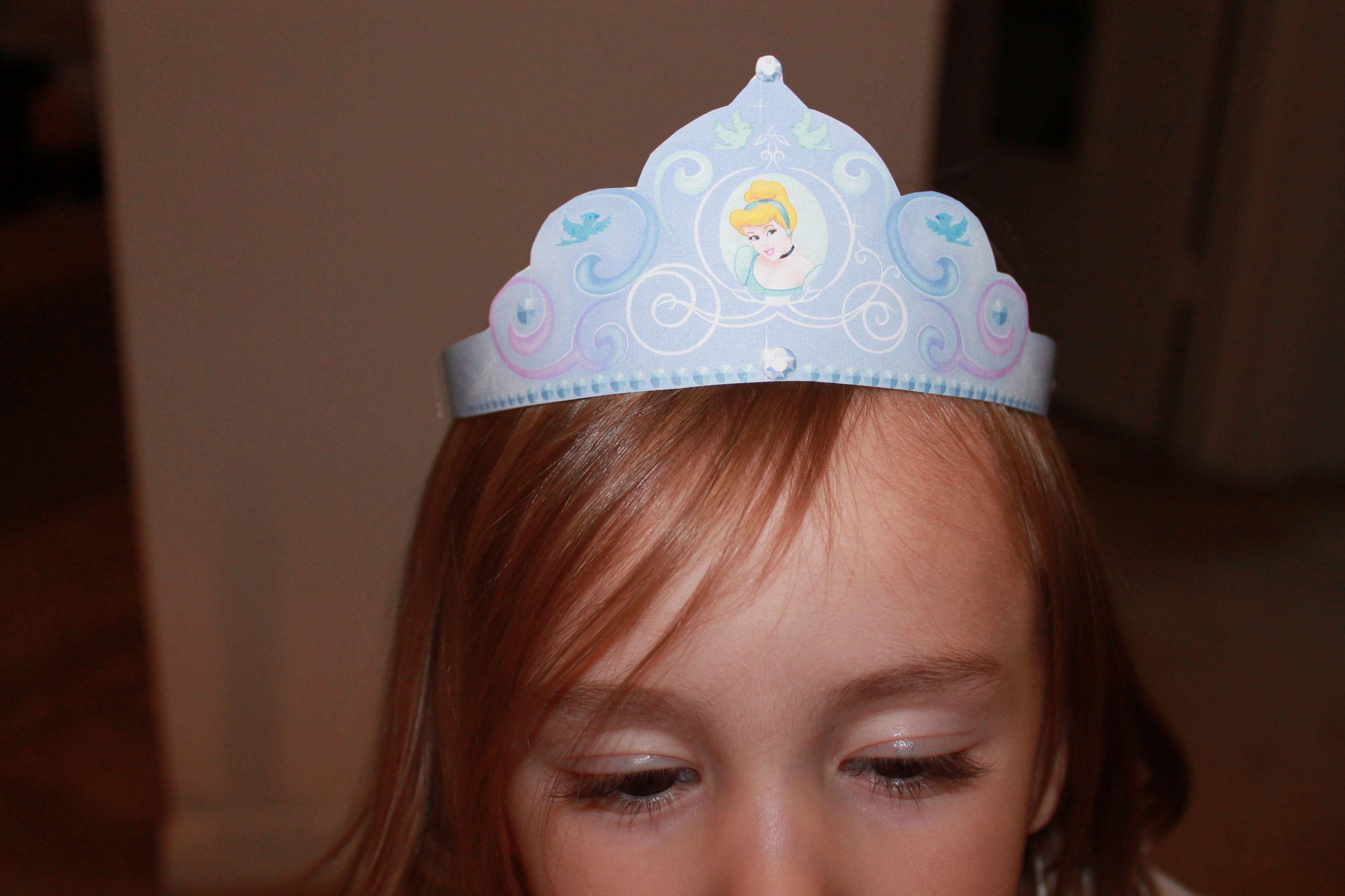 Cinderella S Paper Crown