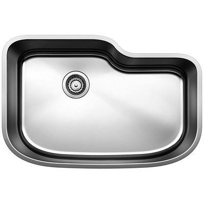 Blanco One 30 L X 20 W Undermount Kitchen Sink Single Bowl