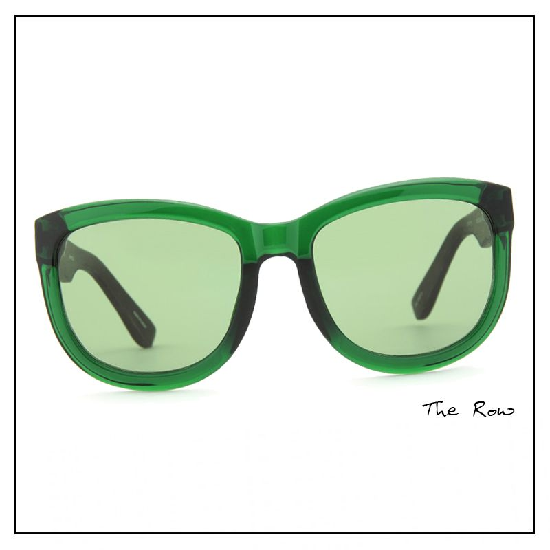 The Row نظارات ملونة من Square Sunglass Rayban Wayfarer The Row