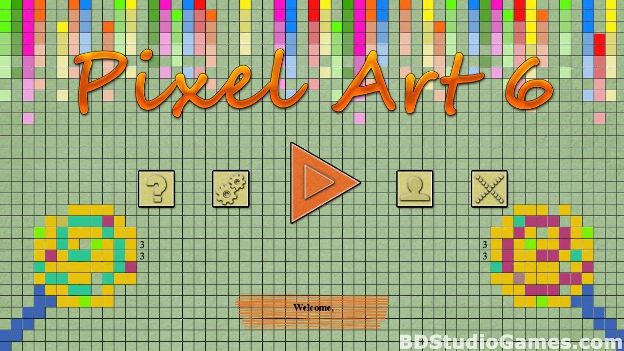 Pixel Art 6 Free Download BDStudioGames in 2020 Pixel