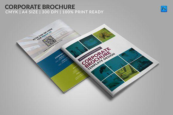 Corporate Business Brochure By Cristal Pioneer On @creativemarket    Corporate Bi Fold Brochure Design   Pinterest   Business Brochure, Corporate  Business ...