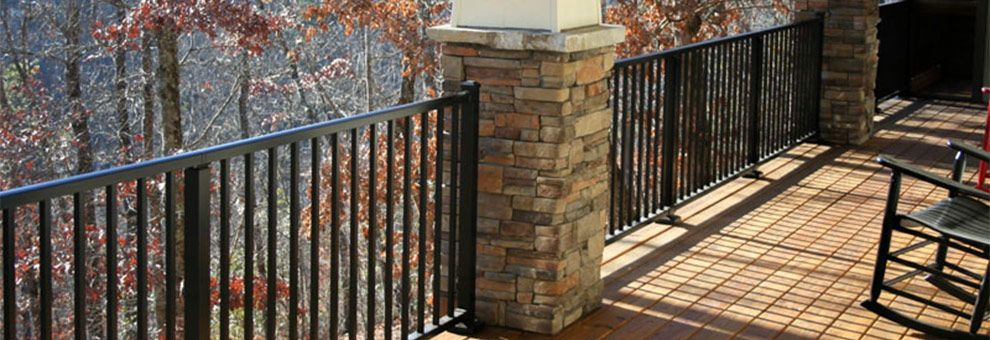 Westbury Aluminum Deck Railing Mccray Lumber And Millwork