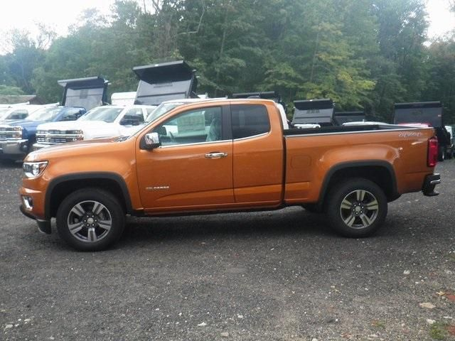 New Burning Hot Metallic 2017 Chevrolet Colorado Extended Cab Long