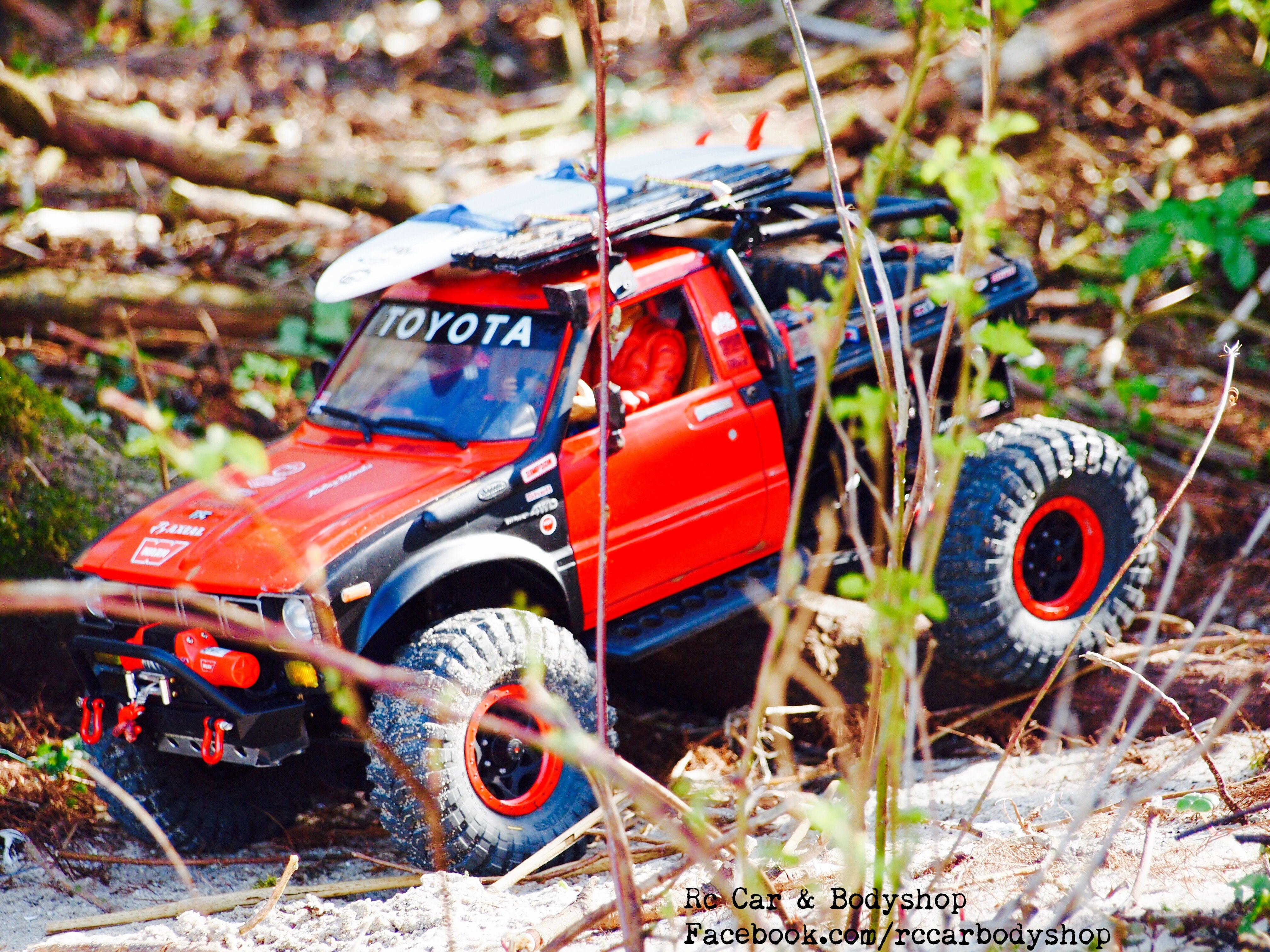 Axial Scx 10 Toyota Hilux Truggy Custom Build By Us