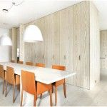 Comfy Dining Room With Wooden Table And Adorable House In Modern Decoration Style Engaging Ocean View