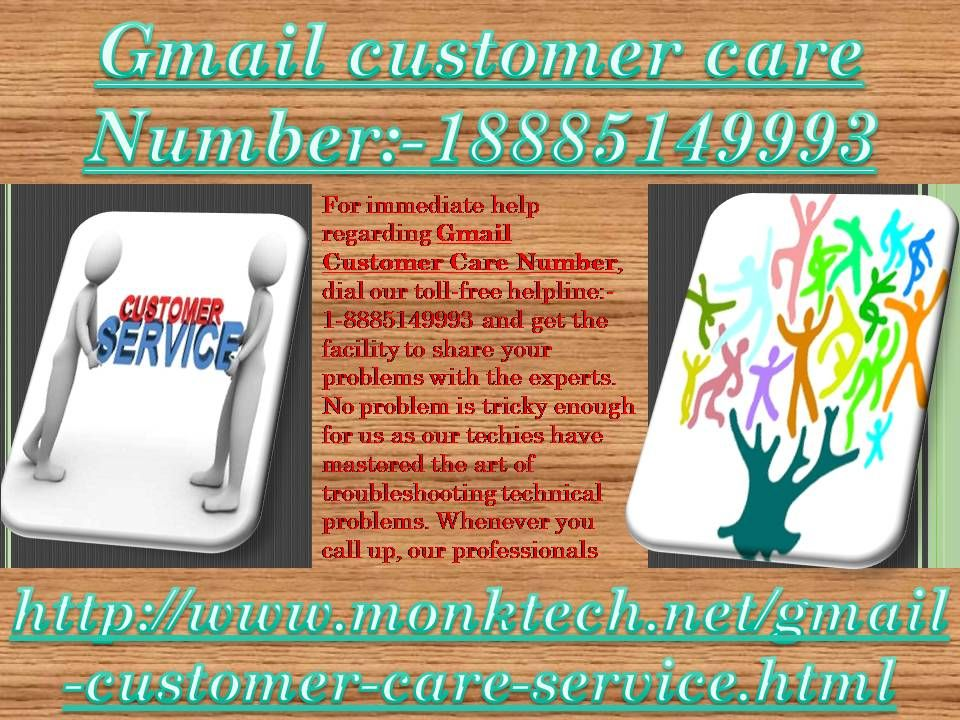 Don't you think about Gmail customer care number 1888