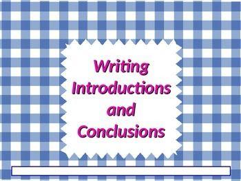 Types of essays ela