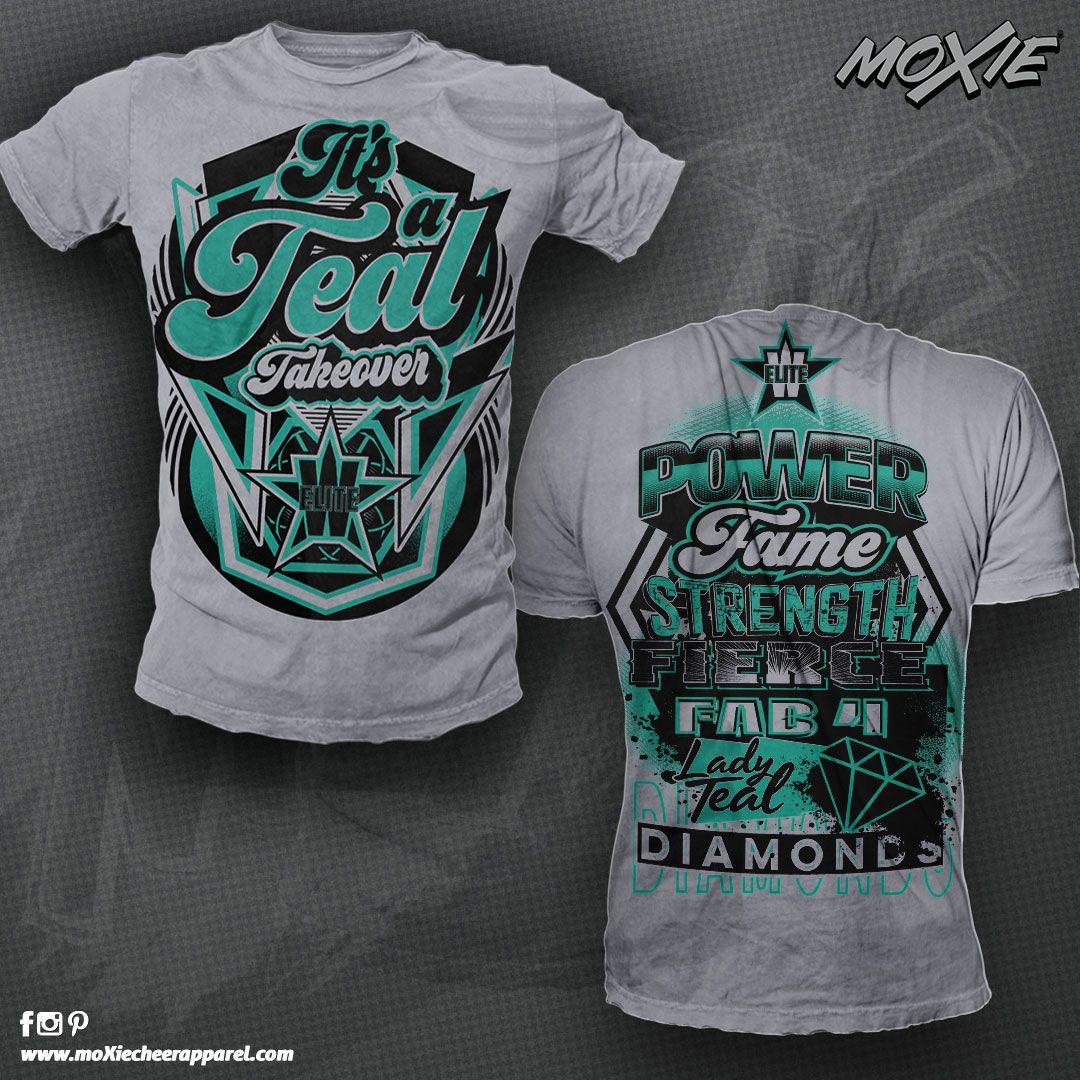 Custom Tshirt For Wylie Elite Cheer By Moxie Cheer Apparel Premium