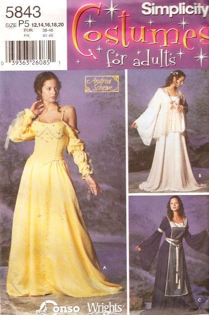 Dreamy Renaissance gown Tabard tunic bustier armbands by HeyChica ...