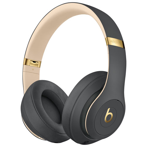 Beats By Dr Dre Studio3 Skyline Over Ear Noise Cancelling Bluetooth Headphones Shadow Grey In 2020 In Ear Headphones Headphones Bluetooth Headphones
