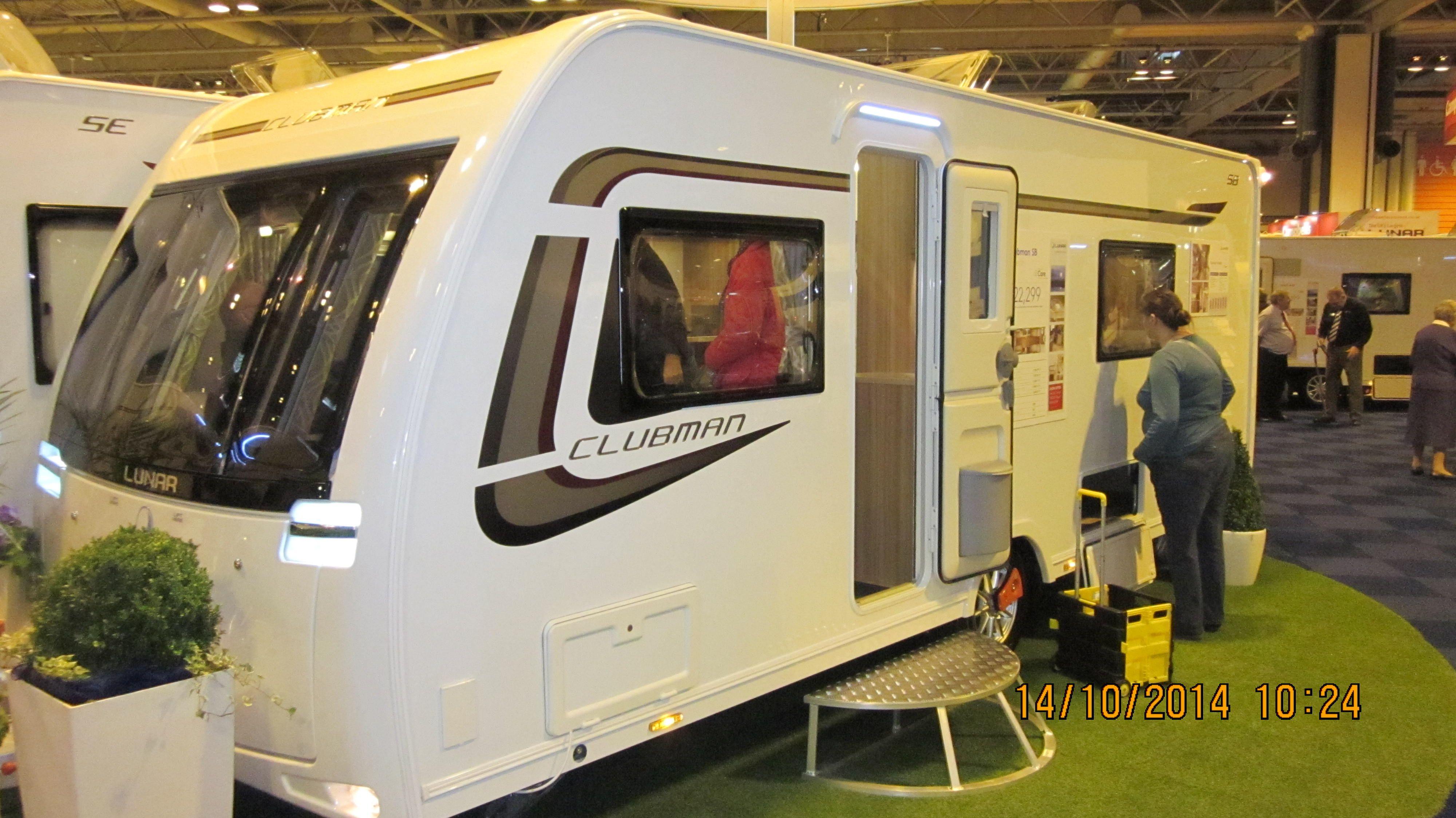Lunar Clubman Sb A Single Axel Luxury Caravan With Everything You