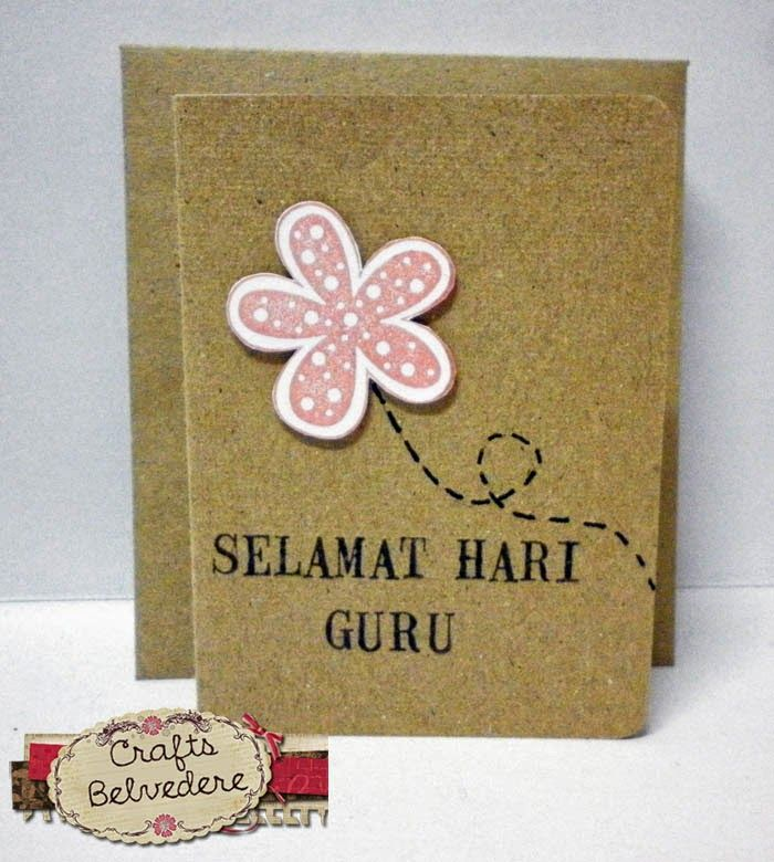 Ideas For Making Greeting Cards For Teachers Day Part - 33: Teacheru0027s Day Card Using Recycled Paper