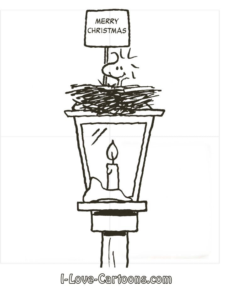 peanuts coloring pages woodstock - photo#34