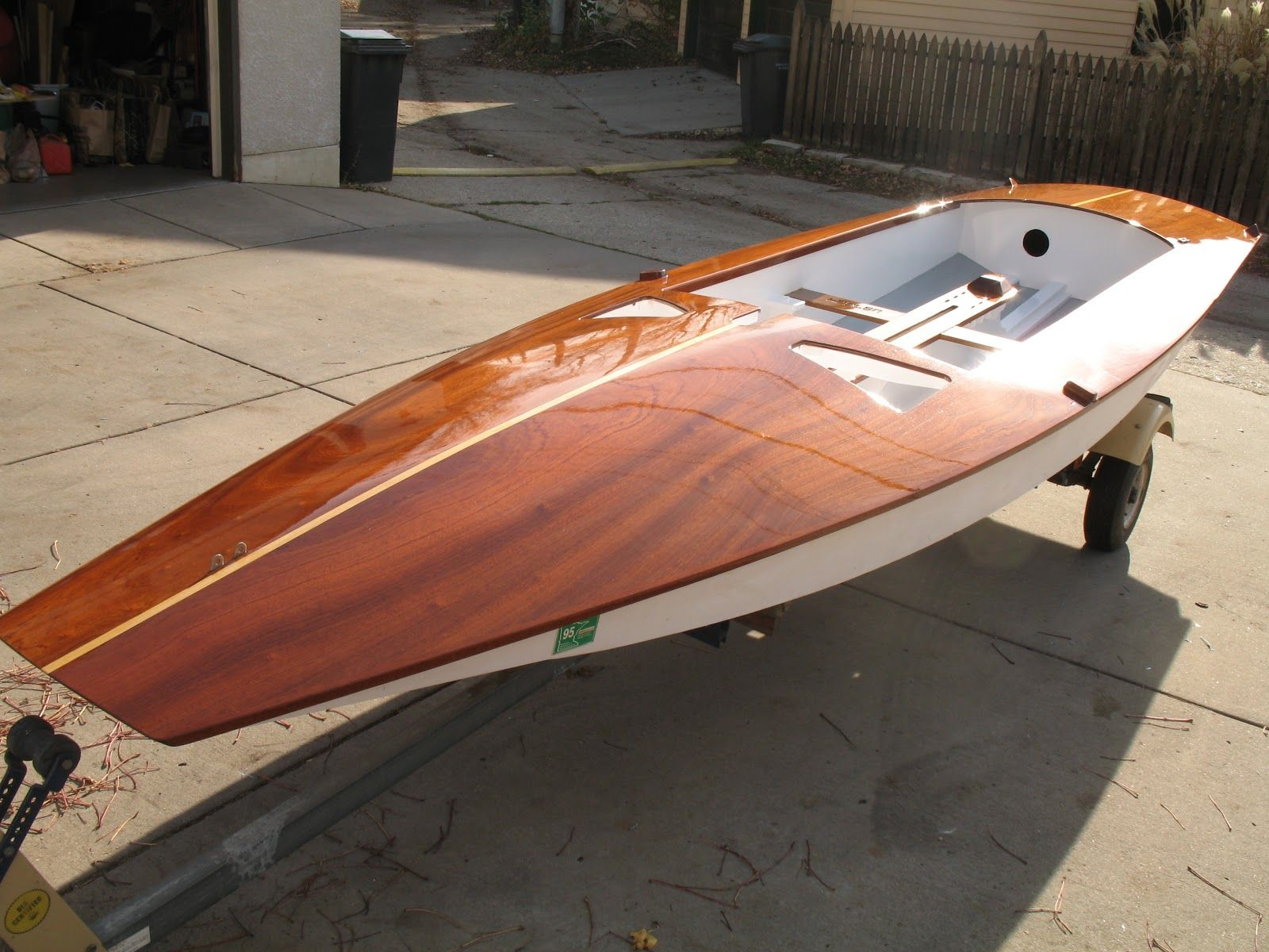 Pin by DB on Fireball - wood | Sailing dinghy, Dinghy, Sailing