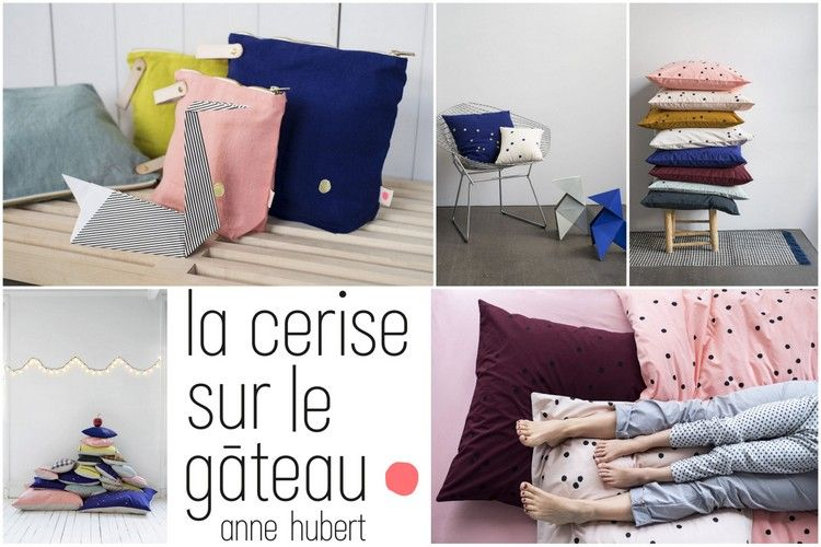 la cerise sur le g teau la marque de linge de maison. Black Bedroom Furniture Sets. Home Design Ideas