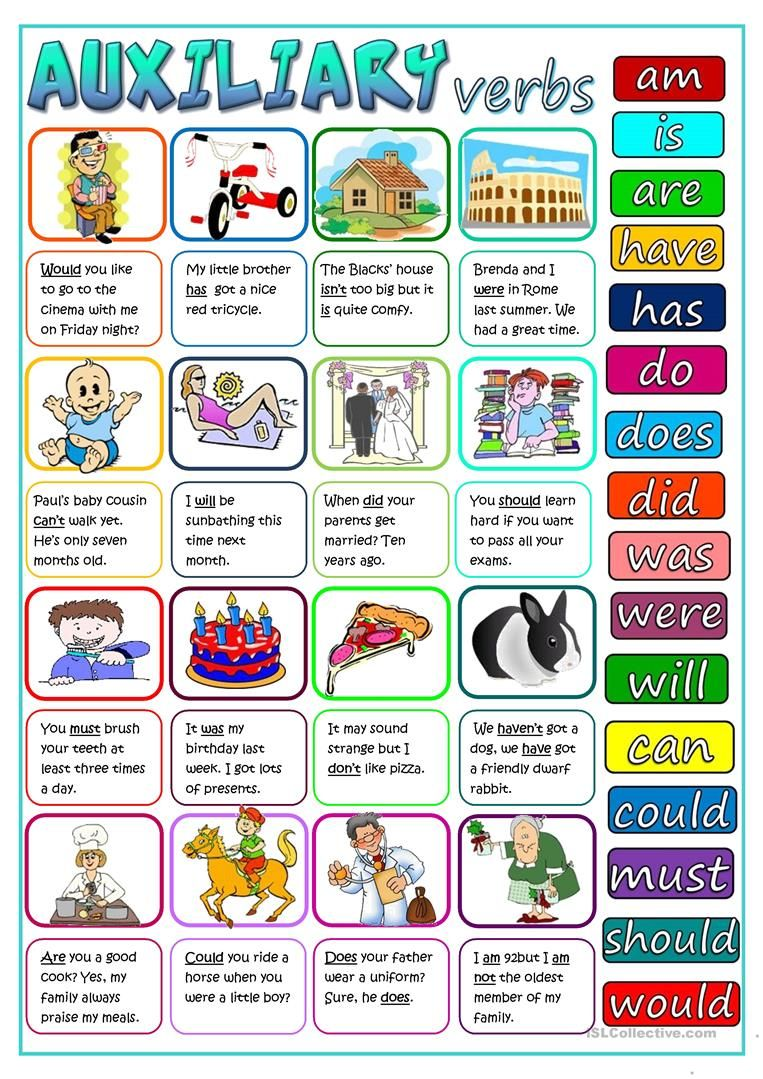 Auxiliary Verbs Worksheet Free Esl Printable Worksheets Made By Teachers Verb Worksheets Verb English Lessons [ 1079 x 763 Pixel ]