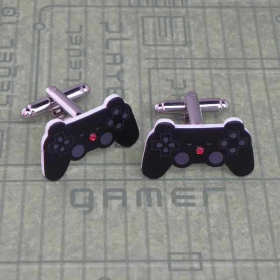 GAMER Playstation Video Game Controller Cufflinks by PlayBox, £8.00
