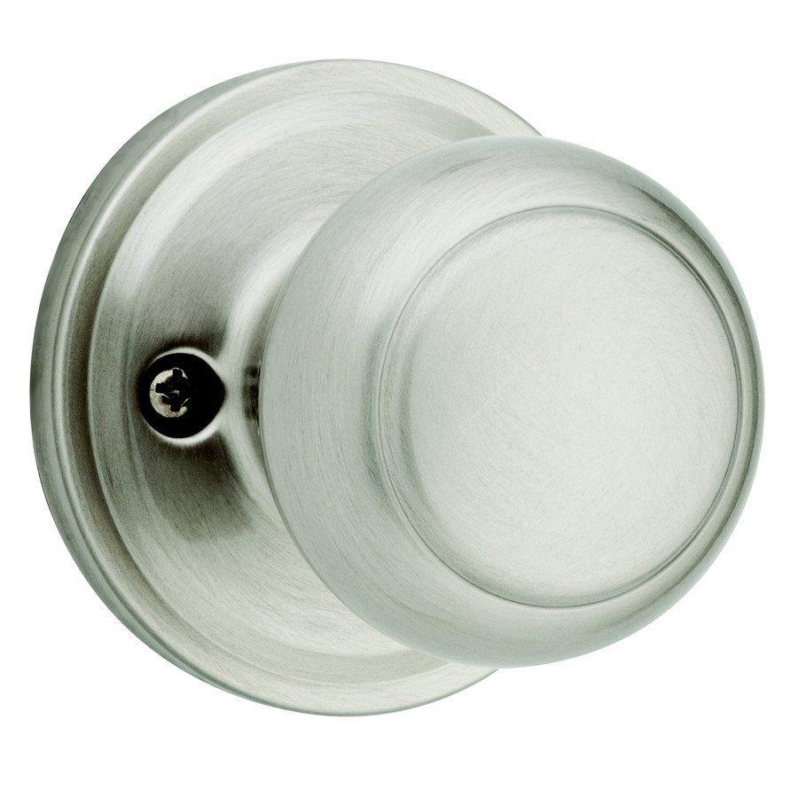 Weiser Troy Satin Nickel Residential Dummy Door Knob by Weiser Lock ...